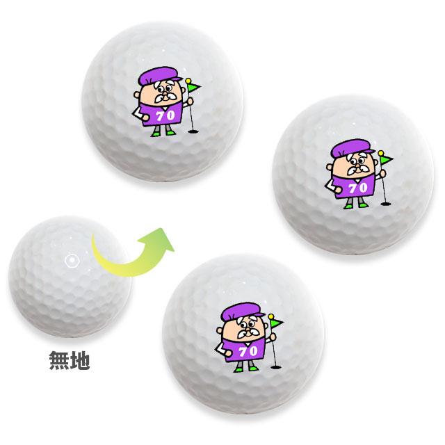 オリジナル無地3球